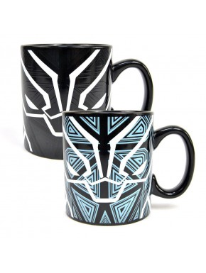 Taza térmica Black Panther Marvel