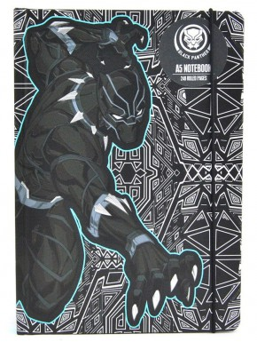 Libreta A5 Black Panther Marvel