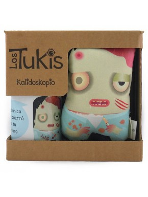 Pack Tuki Taza Zombie