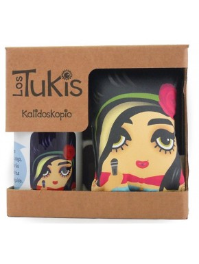 Pack Tuki Taza Amy Winehouse