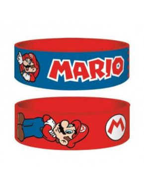 Pulsera silicona Super Mario