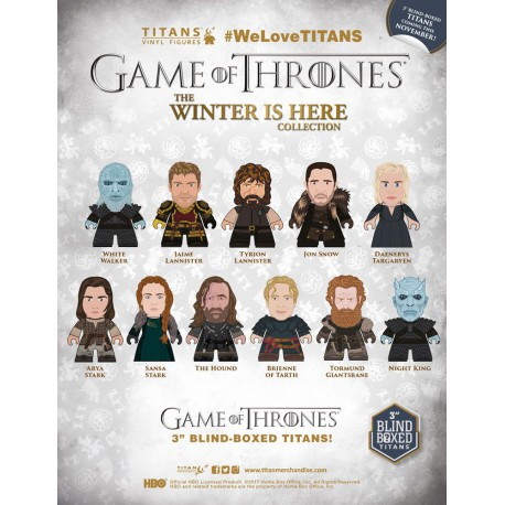 Figura Sorpresa Winter is Here Juego de Tronos Titanes