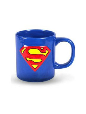 Taza logo Superman