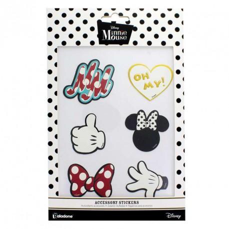 Set de Parches Pegatina Minnie Mouse Disney