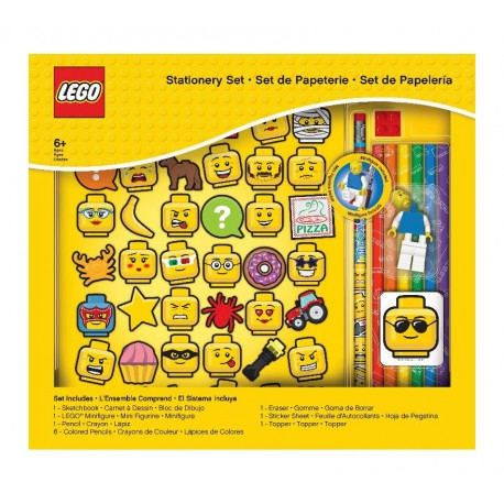 Set Papelería Lego Iconos