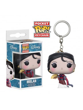 Llavero mini Funko Pop! Mulan Disney