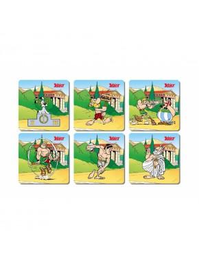 Set 6 Posavasos Juegos Olímpicos Asterix