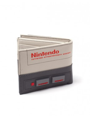 Cartera Nintendo Consola en Relieve