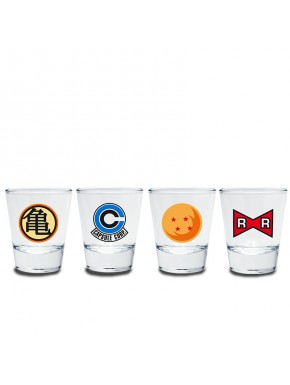 Vasos Chupito Dragon Ball Emblemas
