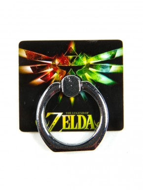 Anillo para móvil Zelda Trifuerza