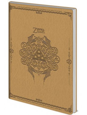Libreta Premium Zelda Sage Symbols