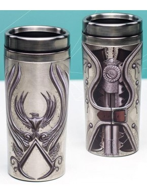 Taza de Viaje Assassin's Creed Logo Chrome