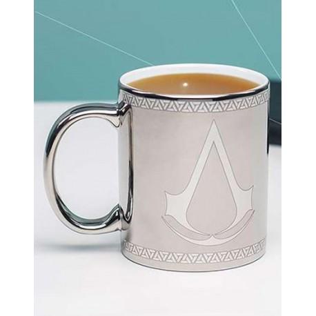 Taza Assassin's Creed Logo Chrome