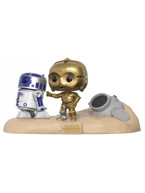 Funko Pop! R2-D2 & C-3PO Tatooine Star Wars