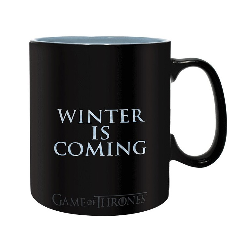 Taza t rmica winter is here juego de tronos 14 50 - Taza termica para cafe ...