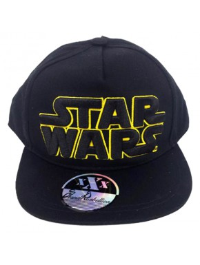 Gorra Star Wars Logo Negro