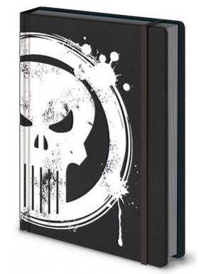 Libreta Premium A5 Punisher Marvel