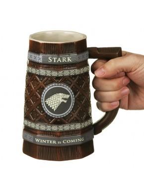 Jarra Deluxe Juego de Tronos Stark Sigil