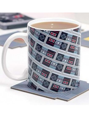 Taza NES Nintendo Collage