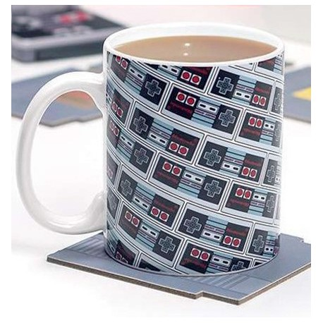 Taza NES Nintendo Collage