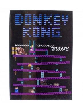 Libreta 3D Donkey Kong Nintendo
