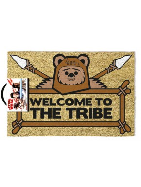 Felpudo coco Star Wars Ewok Welcome to the Tribe
