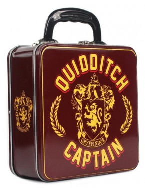 Caja maletín de lata Harry Potter Quidditch