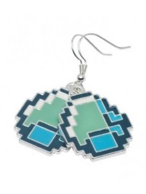 Pendientes de diamante Minecraft