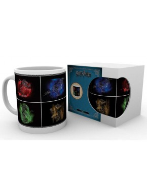 Taza Harry Potter Animales Casas