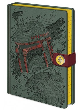Libreta A5 Boba Fett Art Star Wars