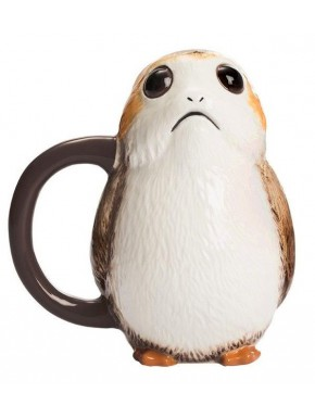 Taza 3D Porg Star Wars Episodio VIII