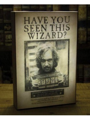 Cuadro Iluminado Harry Potter Sirius Black