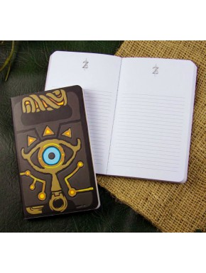 Libreta Zelda Sheikah Breath of the Wild