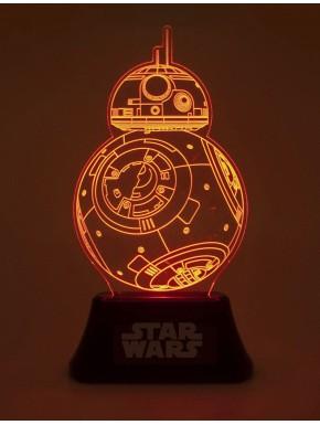 Lámpara LED Star Wars BB-8 23 cm