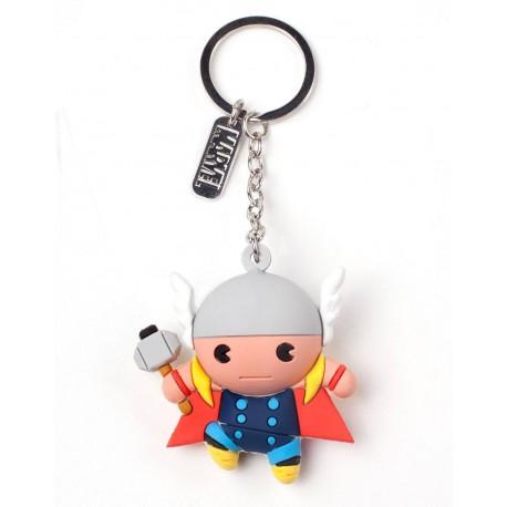 Llavero caucho 3D Thor Marvel