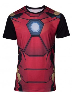 Camiseta Cosplay Iron Man
