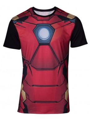 Camiseta Cosplay Iron Man