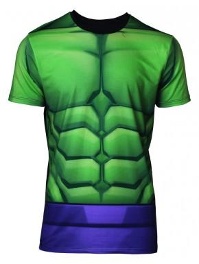 Camiseta Cosplay Hulk