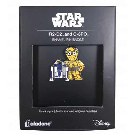 Pin R2-D2 Y C-3PO Star Wars Deluxe