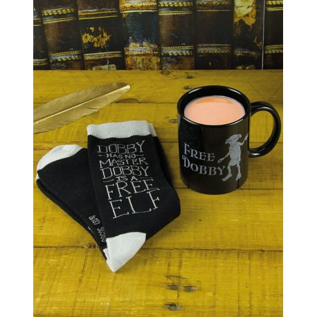 Pack de Regalo Calcetines + Taza Dobby Harry Potter