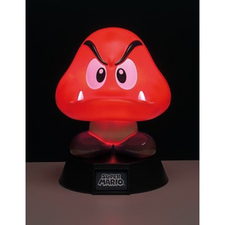 Lámpara 3D Super Mario Goomba 10 cm