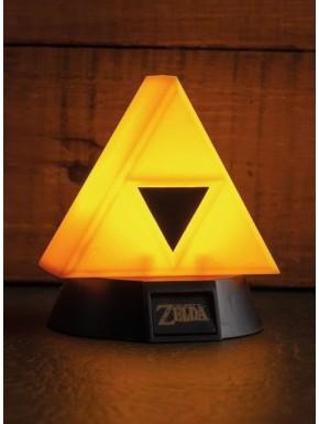 Lámpara 3D Zelda Trifuerza 10 cm
