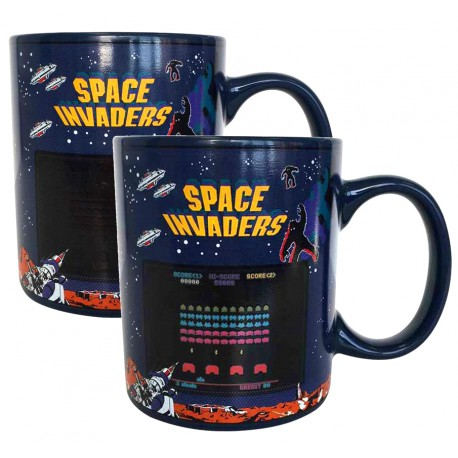 Taza Térmica Space Invaders