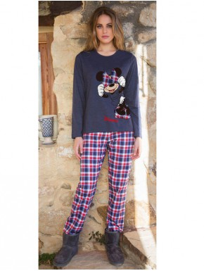 Pijama Minnie Big Mouse Adulto Disney