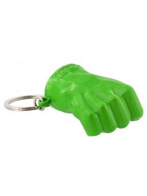 Llavero metálico 3D Hulk Puño Marvel