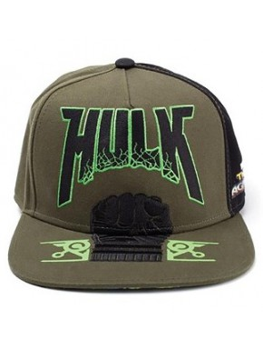 Gorra Beisbol Hulk Thor Ragnarok Marvel