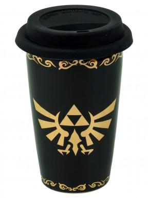 Taza de Viaje Zelda Trifuerza