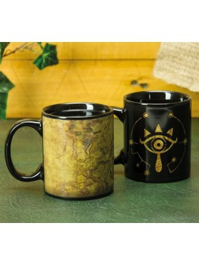 Taza térmica Zelda Ojo Sheikah Breath of The Wild