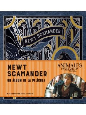 Libro Newt Scamander: Un Álbum de la Película Animales Fantásticos
