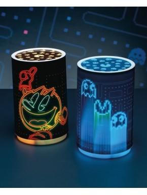 Lámpara mini proyector Pac-Man
